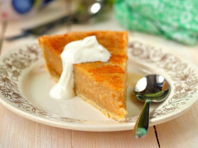 4. La tarte au sucre, une succulente recette typique et classique du Québec