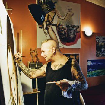 La rédemption par l'art pour un ex-braqueur de banques