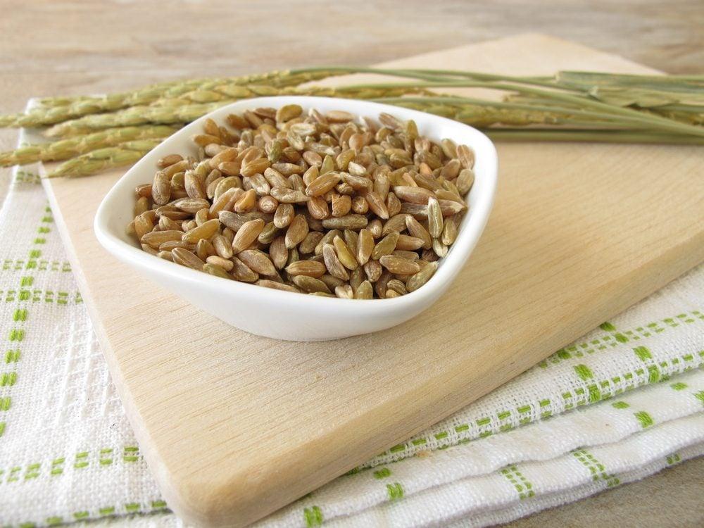L'épeautre, un grain ancien riche en vitamine A et en fer