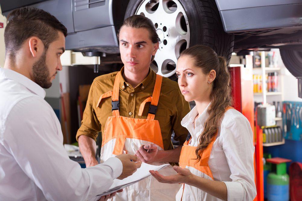 Arnaque de mécanicien #1: Rinçage du moteur