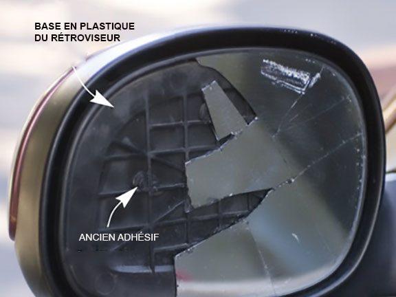 Comment changer le miroir du r troviseur de votre auto for Le miroir brise