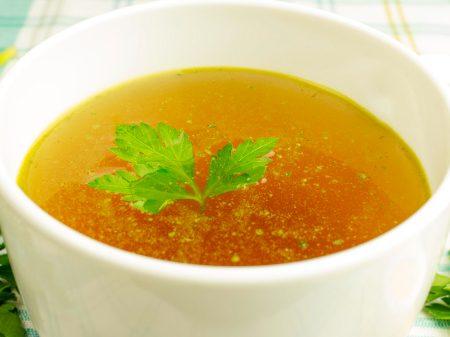 7. Utilisez un bouillon de qualité comme base de recette