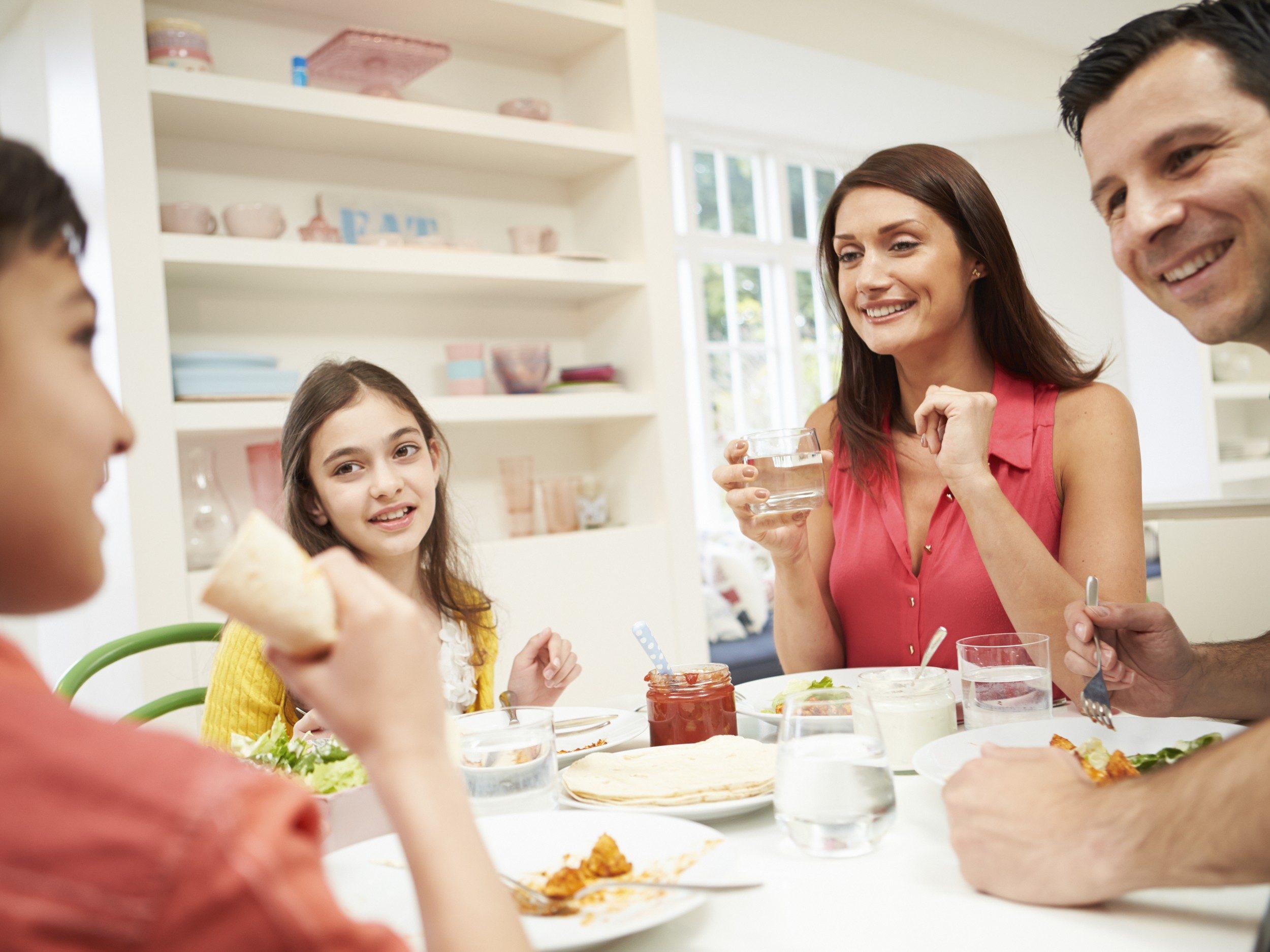 1. Souper en famille