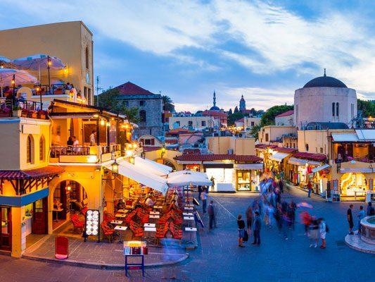 4. La vieille ville de Rhodes