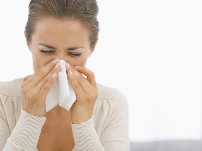 Combattre un rhume