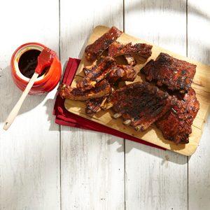 6. Côtes de porc du Stampede de Calgary