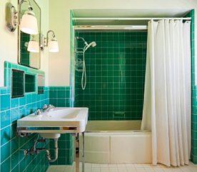4. Recyclez un rideau de douche