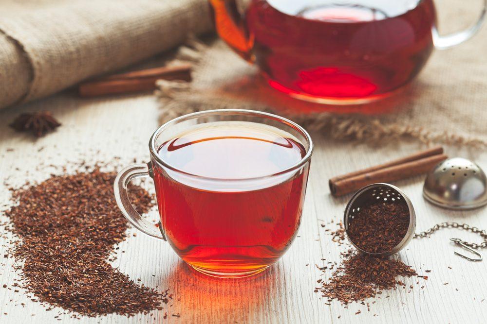 Le thé rooibos favorise la perte de poids
