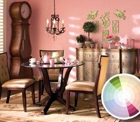 Combinaison no 3: couleurs complémentaires