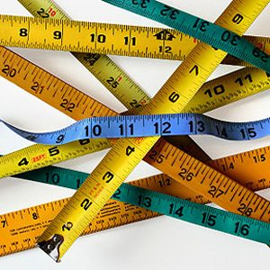 2. Ruban à mesurer