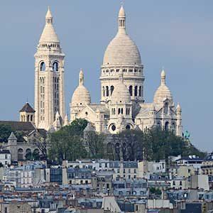 4. Le Sacré-Cœur: l'un des meilleurs sites touristiques de Paris
