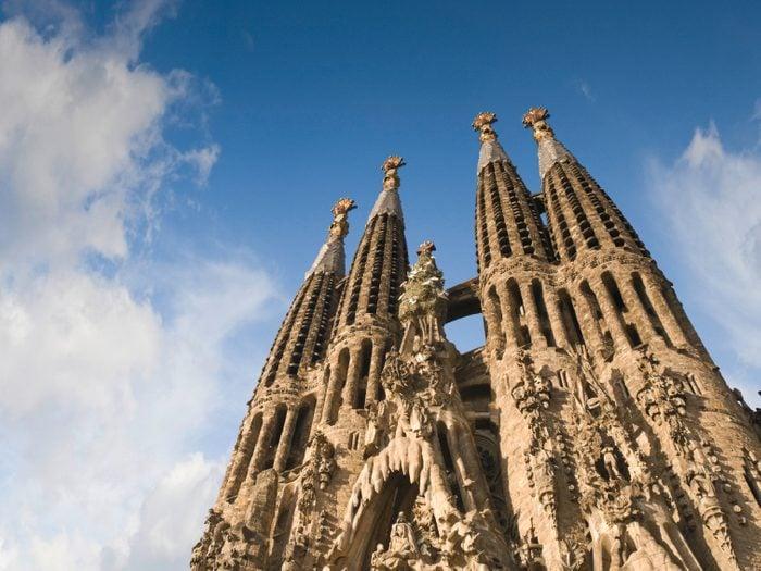 La basilique de la Sagrada Familia