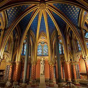 9. La Sainte-Chapelle: l'un des meilleurs attraits touristiques de Paris