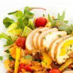 Salade au poulet à l'asiatique