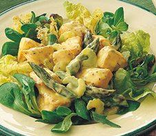 Salade de saumon aux asperges