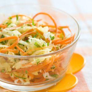 2. Salade de chou aigre-douce