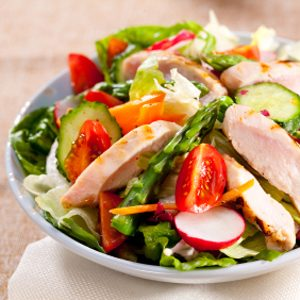 9. Salades déjà préparées