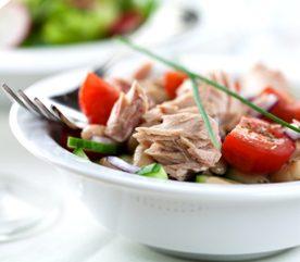 1. Salade de thon à la française