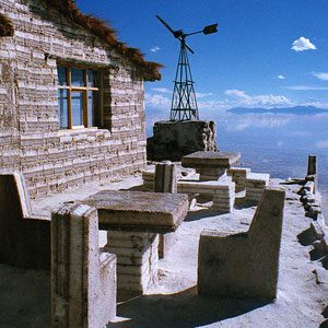 3. Hôtel de sel, Bolivie