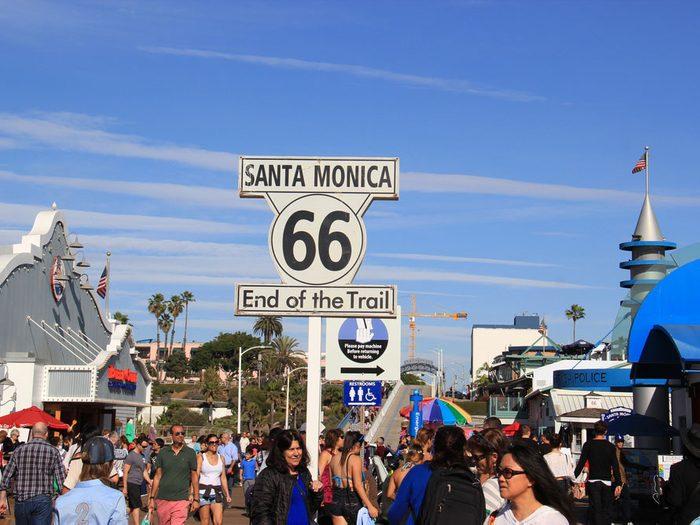 Santa Monica Boulevard est l'une des rues les plus populaires au monde.