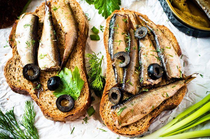La sardine et la morue