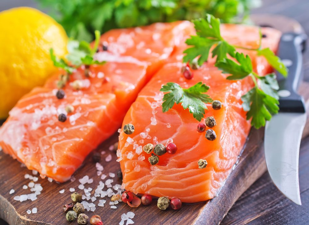 7. salmon and other omega-3