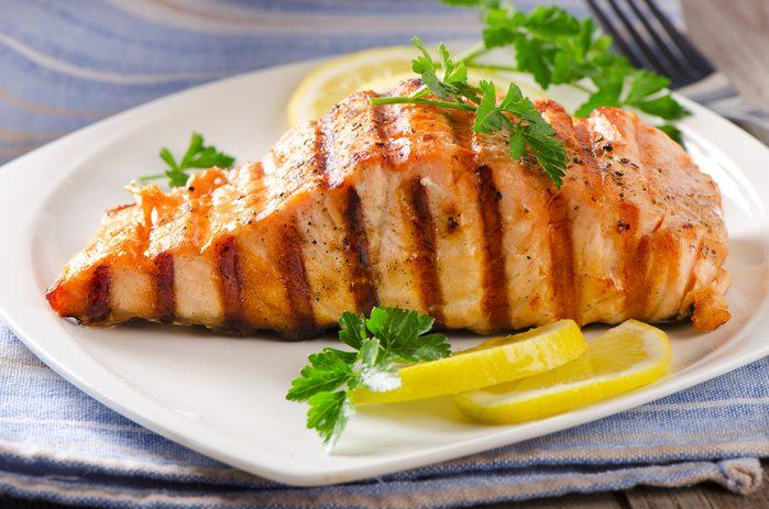 Une recette santé pour les hommes de saumon au xérès