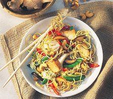 2. Sauté de légumes au tofu