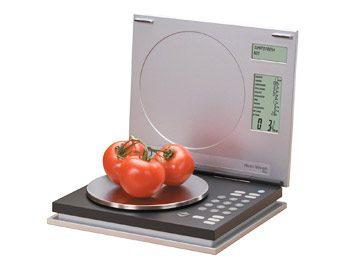 8. Balance indiquant les valeurs nutritionnelles