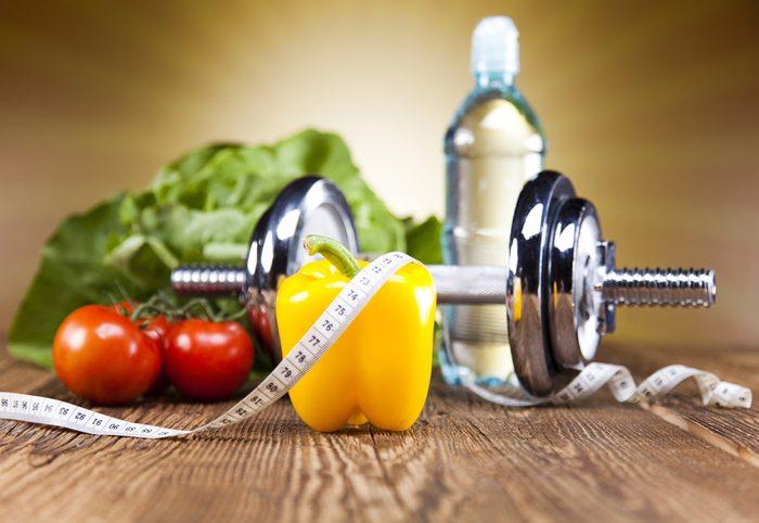 5. Il faut plus qu'un chèque ou que sa présence aux séances d'entraînement pour être en forme et en santé.