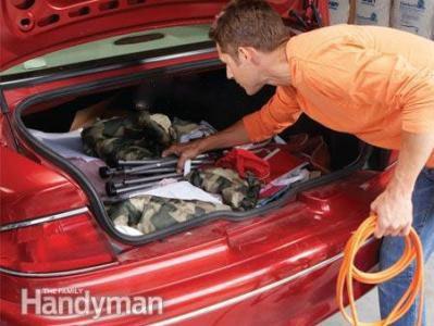 Astuce 2:Nettoyer soigneusement le véhicule et faites appel à un professionnel