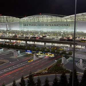 9. L'aéroport international de San Francisco, Californie, É.-U.