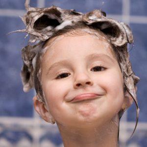 1. Lavez les brosses et les peignes.
