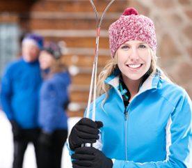 Les sports d'hiver, ça réchauffe!
