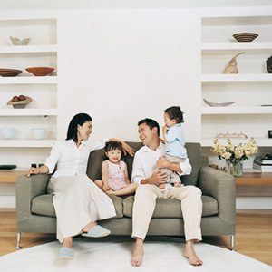 4. Si vous avez des enfants, choisissez un tissu « indulgent »