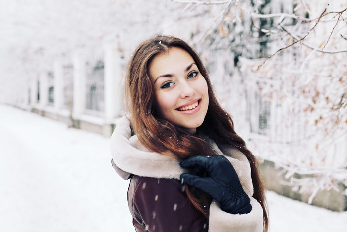 Pour protéger votre peau contre le froid en hiver, ...