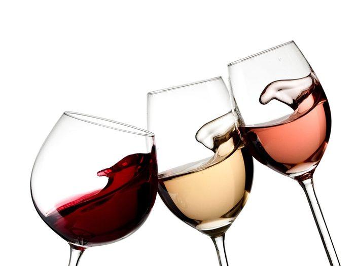 4. Évitez l'alcool