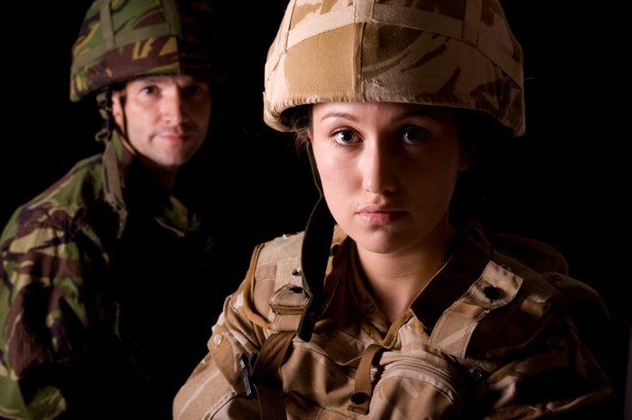 Soldat d'infanterie