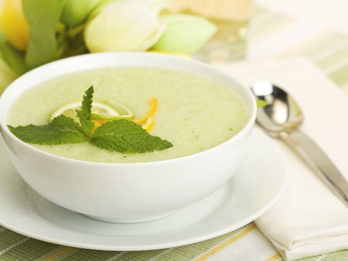 Détox: jus vs. soupe
