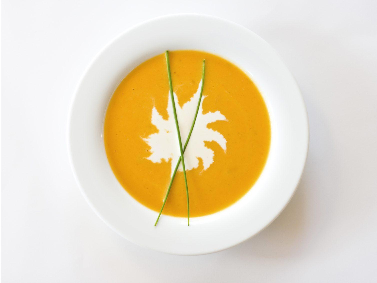 Servez-vous une soupe pour calmer votre faim