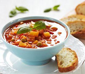 2. Soupe de légumes printanière