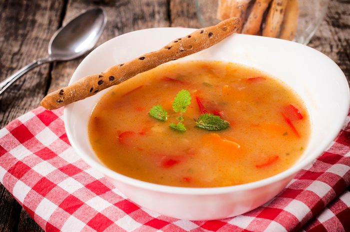La soupe comme coupe-faim