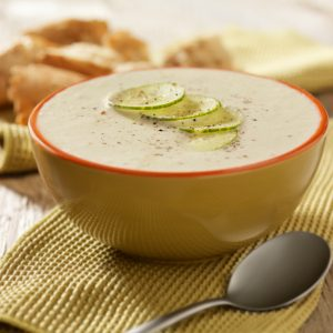 4. Soupe au concombre
