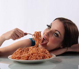 Des spaghettis à la bolognaise