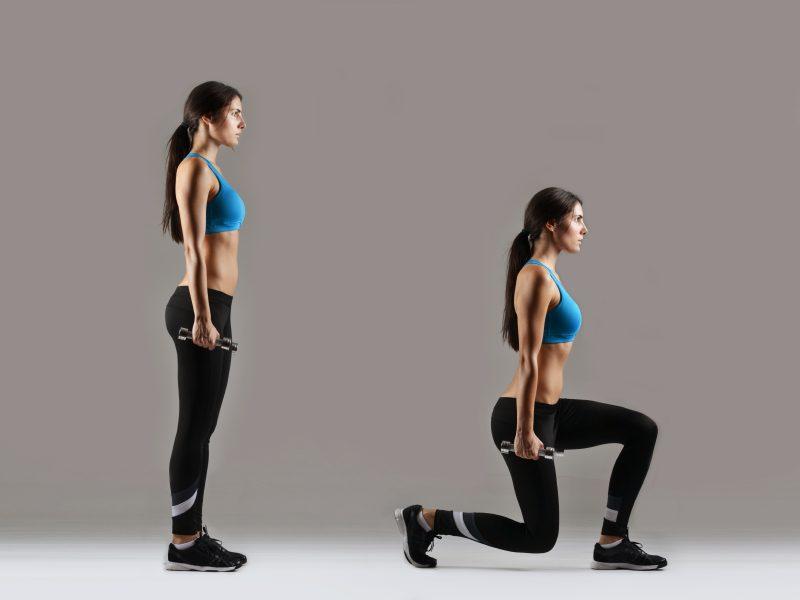 Ajouter des flexions (squats) et des fentes pour brûler plus d'énergie