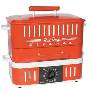 5. Cuiseur à vapeur pour hot-dogs