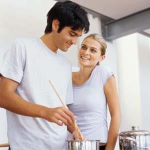3. C'est une excuse pour cuisiner pour deux