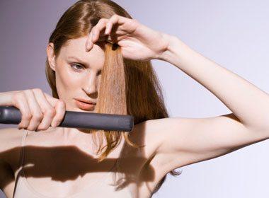 Ne pas mettre trop de stress sur ses cheveux