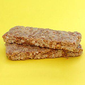 5. Tablette granola d'avoine et de miel (2 portions) : 12 grammes