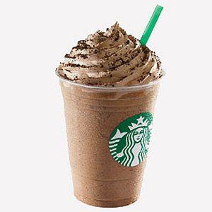 1. Le Java Chip Frappuccino de Starbucks (grand verre, 16 onces) : 66 grammes